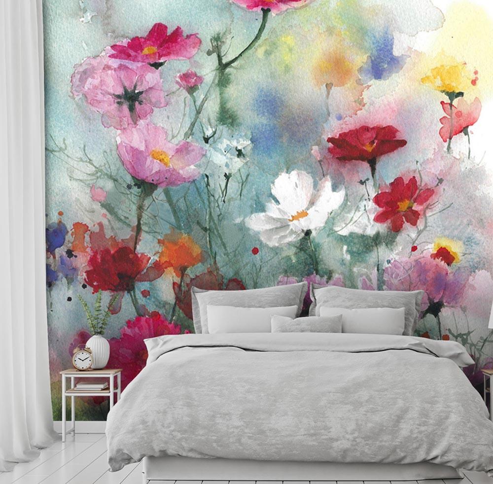 Fototapeta polne kwiaty