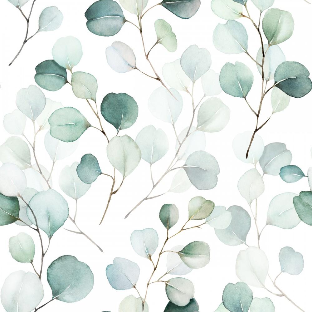 Akwarelowe liście