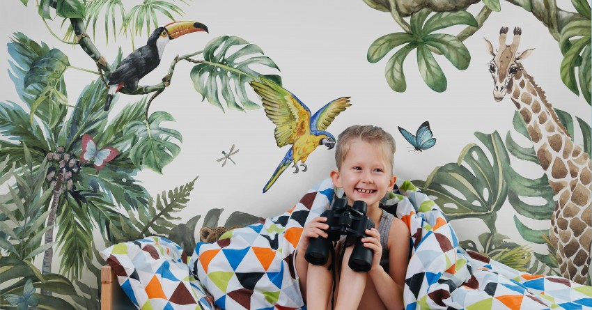 Fototapeta dla dzieci Safari